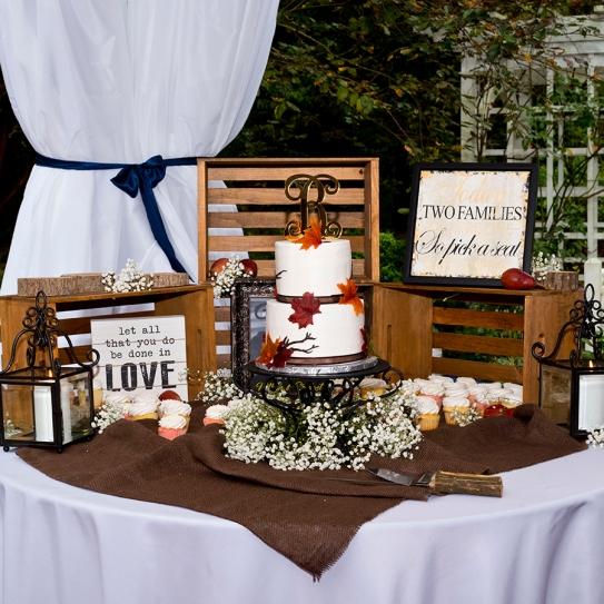 The Burleson wedding